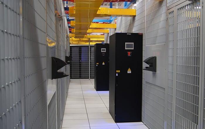 Fotos do Data Center de São Paulo