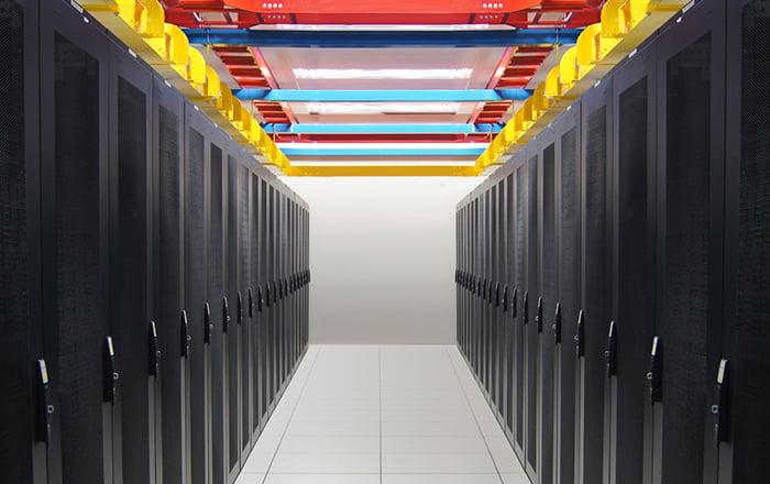 Imagem do Data Center no Brasil