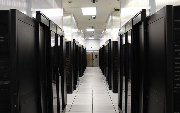 Imagem do Data Center nos Estados Unidos