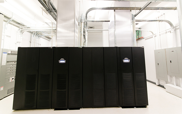 Fotos do Data Center de Orlando